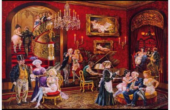 Грехи и развлечения в Москве XIX века: бордели, бани, рестораны