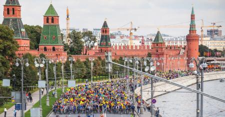 Велопрогулки по Москве