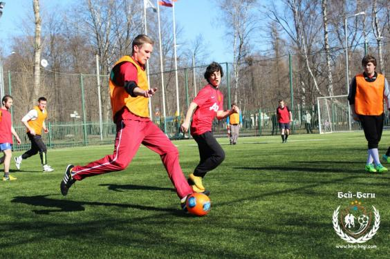Футбол на м. Семеновская