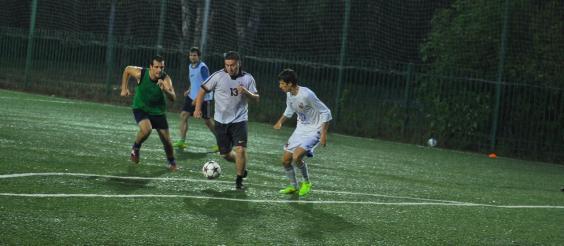 Тренировки по футболу на м. Семеновская
