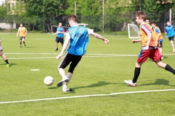 Футбол на м.Тушинская