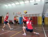 Тренировка по волейболу начальный уровень