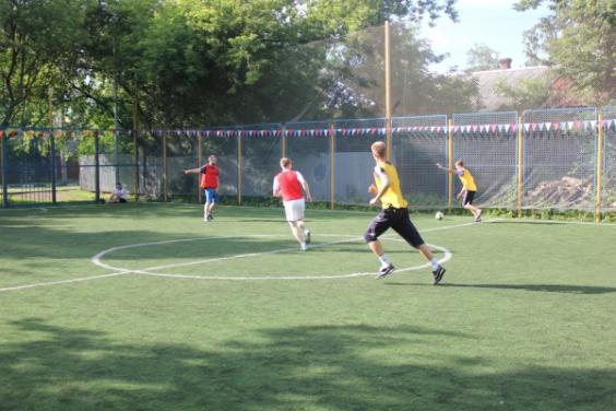 Футбол на м.ВДНХ