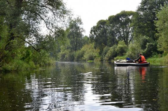 Сплав по реке Дубна