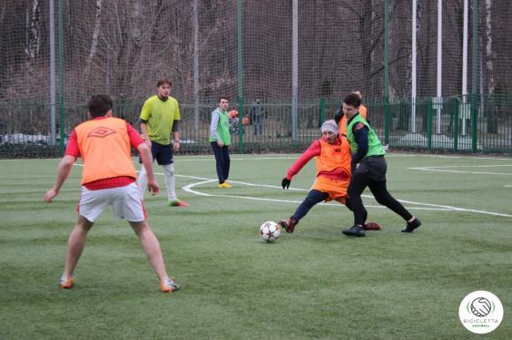 Футбол на м.Сокольники
