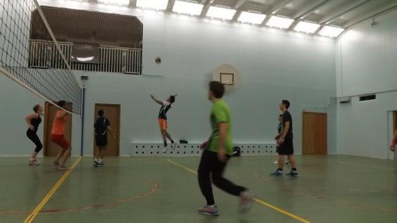Волейбол на м.Кожуховская