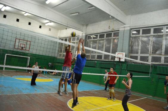 Волейбол на м.Сокол