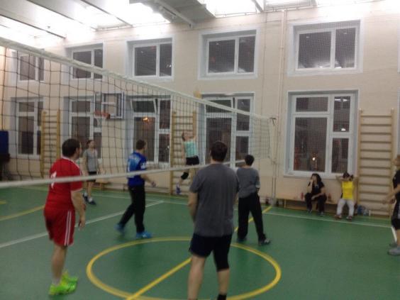 Волейбол по средам на м. Преображенская площадь