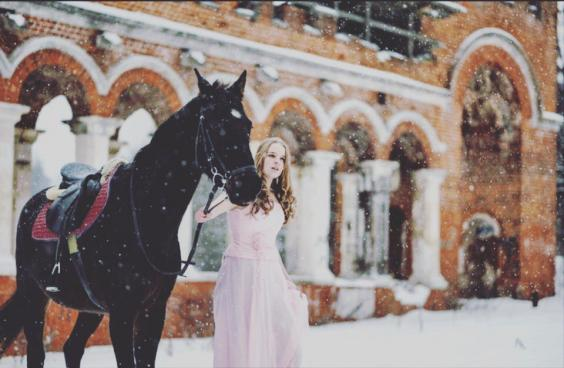 Фотопроект Прогулка с лошадьми