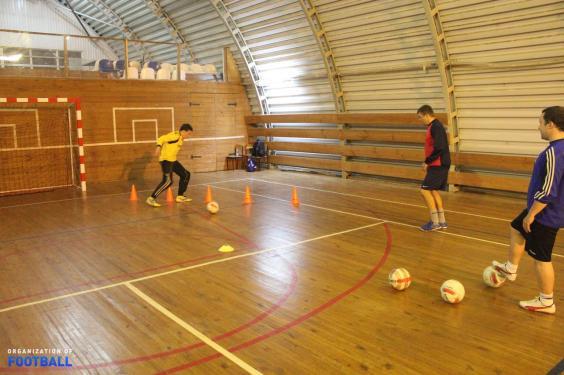 Тренировки для мини-футбольных вратарей