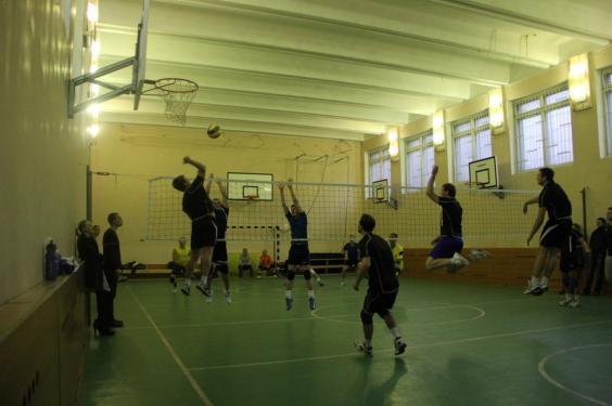 Волейбол на м.Павелецкая