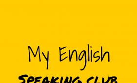 My English Speaking Club