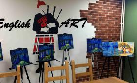 Ehglish ART club: пишем картину - общаемся по-английски
